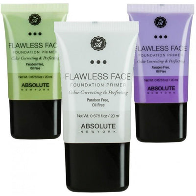Absolute Flawless Face Foundation Primer #NF (3PC)