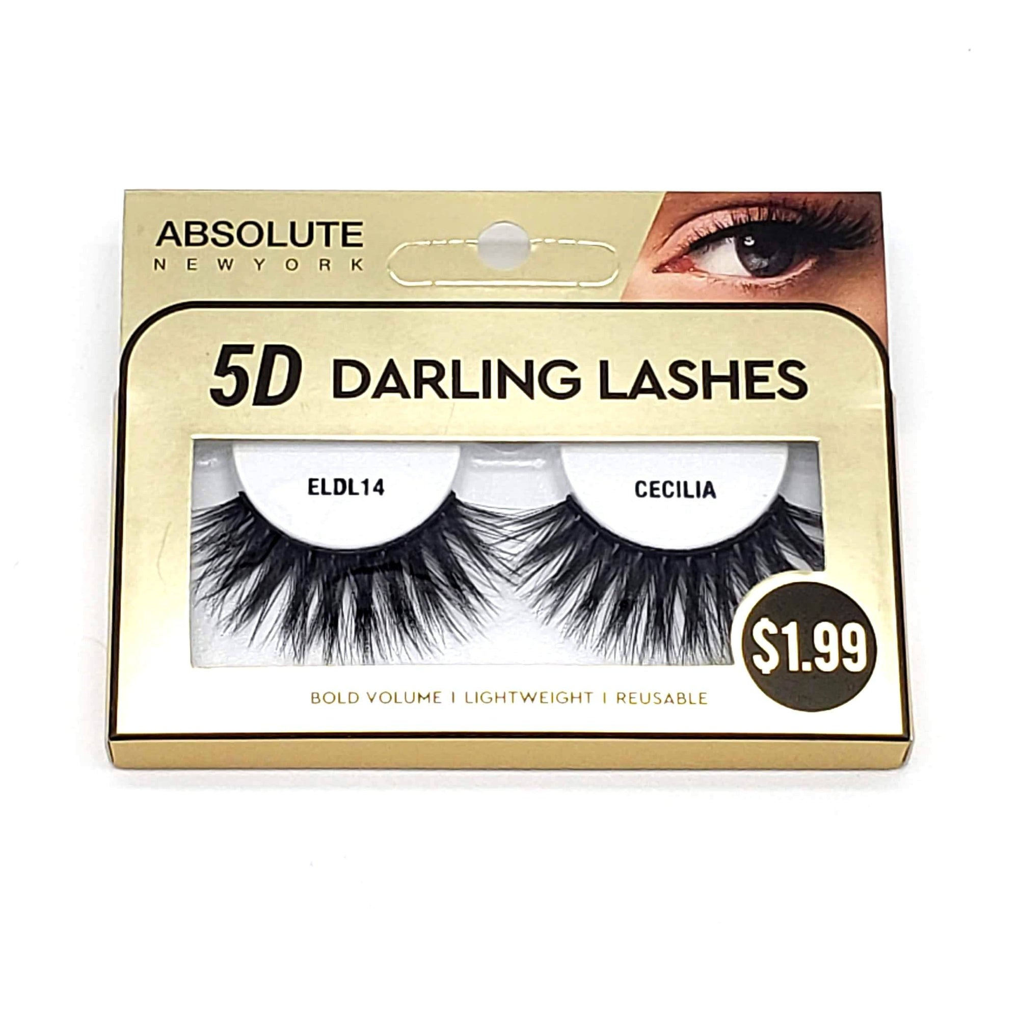 Absolute 5D Darling Lash #ELDL14 Cecilia (6PC)