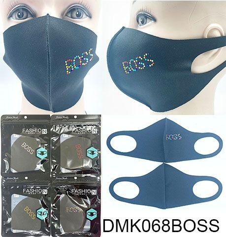 Rhinestone Fashion Face Masks (12PC)