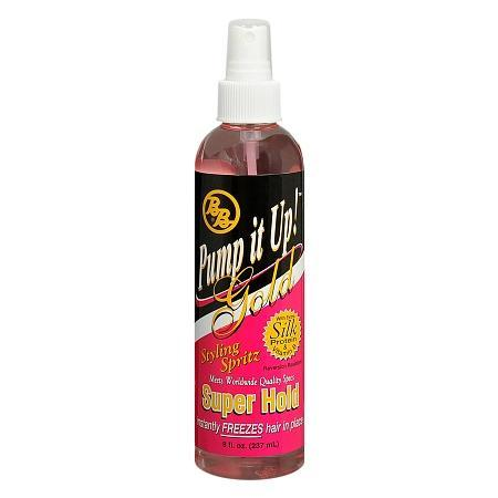 BB Pump It Up Spritz Gold Super Hold 8oz