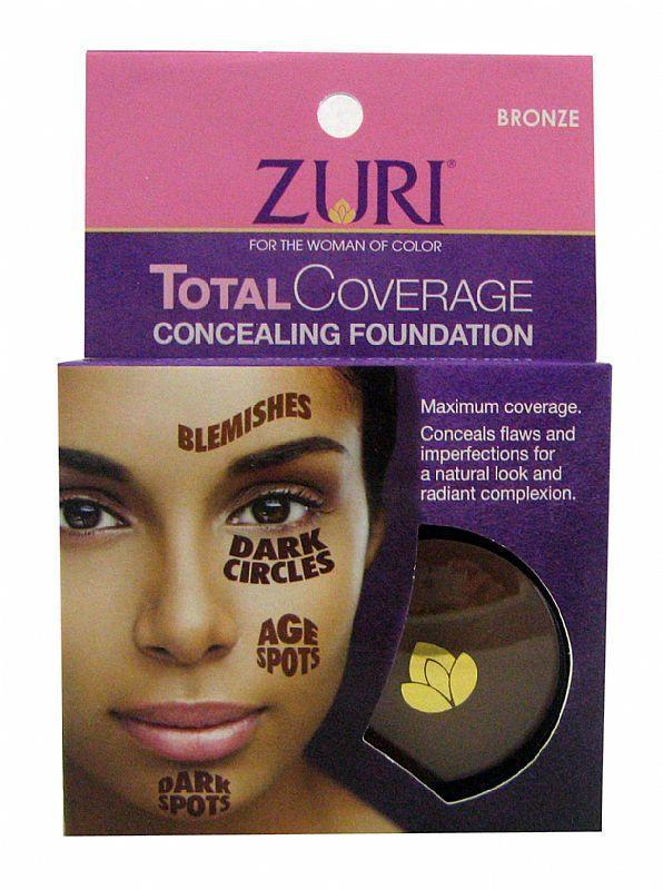 Zuri Total Coverage Concealing Foundation (3PC)