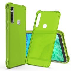 Flex-Gel Silicone TPU Case for Motorola Moto G Fast (Green)