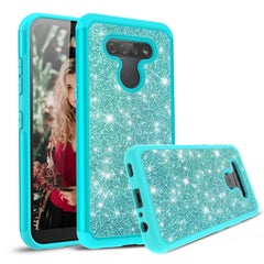 Sparkling Glitter Case for LG K51 and LG Reflect