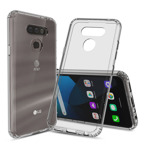 Clear Hard Case Cover for LG Harmony 4