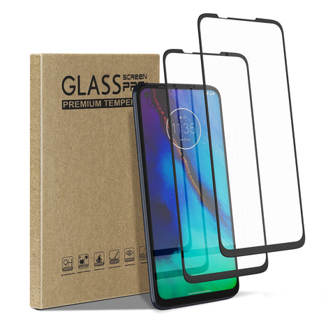 [2 Pack] Tempered Glass Screen Protector for Motorola Moto G Stylus