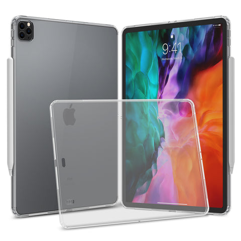 "Clear Hard Case Cover for iPad Pro 12.9"" (2020, 2018)"