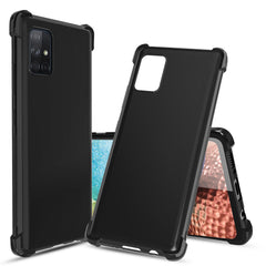 Flex-Gel Silicone TPU Case for Samsung Galaxy A71 5G (Black)