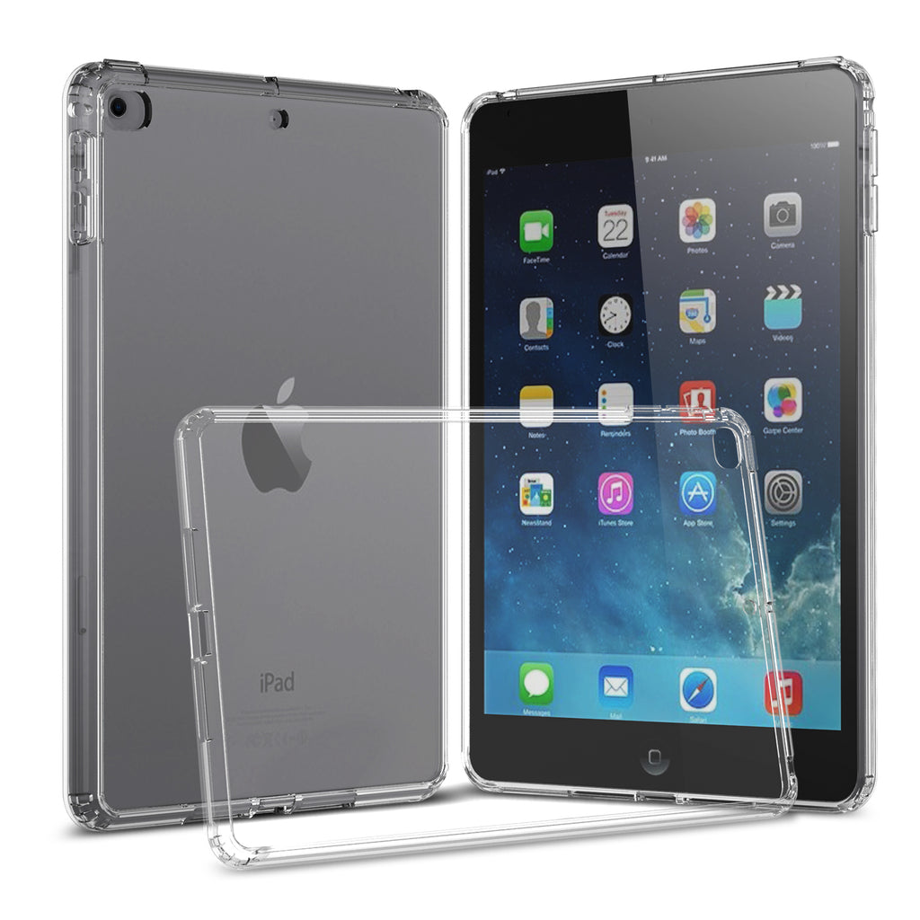 "Clear Hard Case Cover for iPad 10.2"" 8th Gen (2020), 7th Gen (2019)"