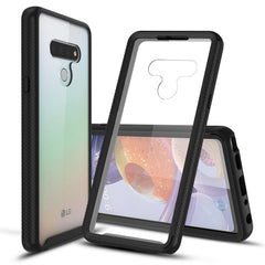 Heavy-Duty Case with Built-in Screen Protector for LG Stylo 6