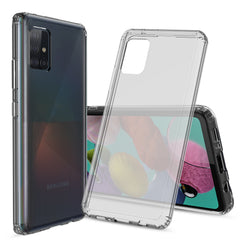 Clear Hard Case Cover for Samsung Galaxy A71 5G