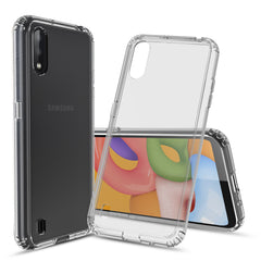 Clear Hard Case Cover for Samsung Galaxy A01