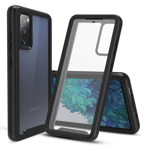 Heavy-Duty Case with Built-in Screen Protector for Samsung Galaxy S20 FE