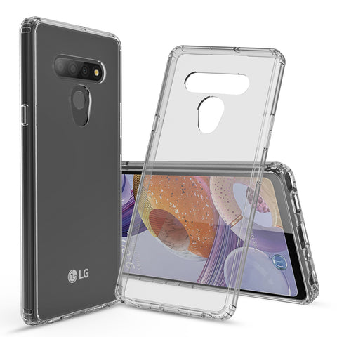 Clear Hard Case Cover for LG Stylo 6