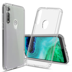 Clear Hard Case Cover for Motorola Moto G Fast