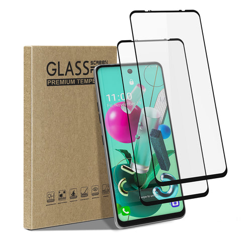 [2 Pack] Tempered Glass Screen Protector for LG K92 5G
