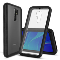 Heavy-Duty Case with Built-in Screen Protector for XiaoMi RedMi 9