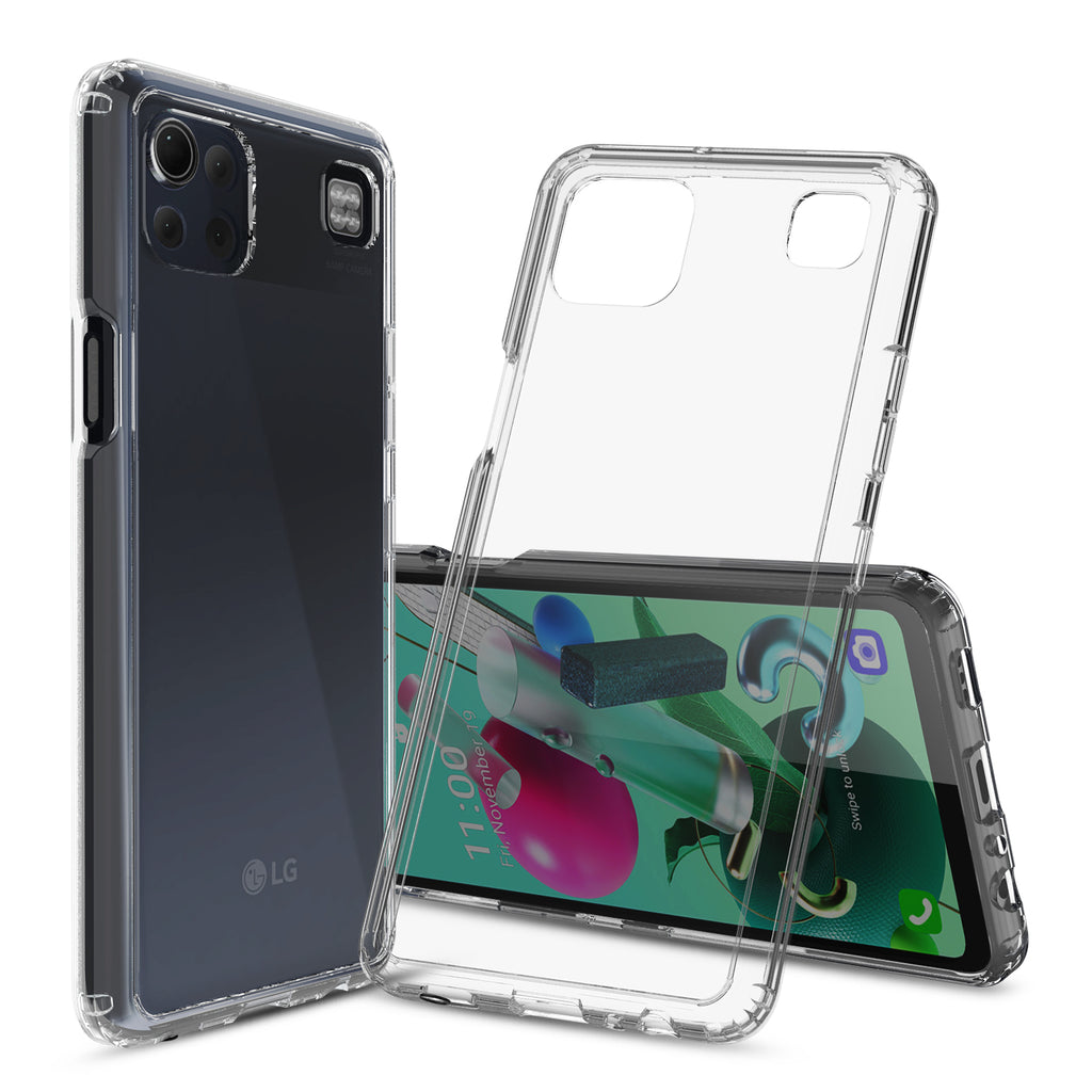 Clear Hard Case Cover for LG K92 5G