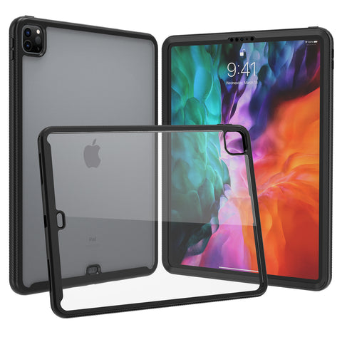 "Heavy-Duty Case with Built-in Screen Protector for iPad Pro 12.9"" (2018/2020)"