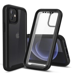 Heavy-Duty Case with Built-in Screen Protector for iPhone 12