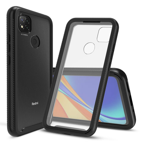 Heavy-Duty Case with Built-in Screen Protector for XiaoMi RedMi 9C
