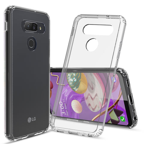 Clear Hard Case Cover for LG Q70