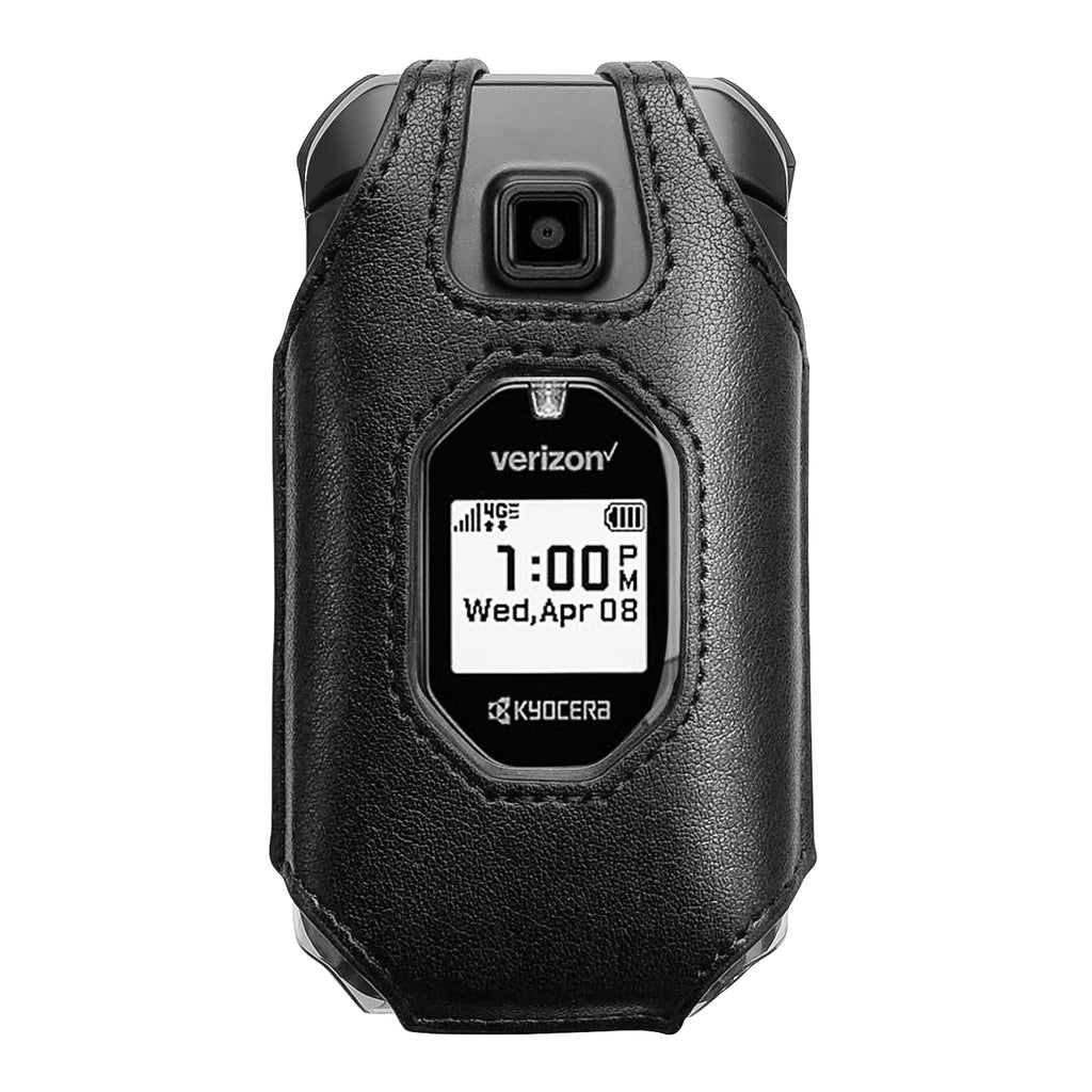 Fitted Leather Case for Kyocera DuraXV Extreme E4810