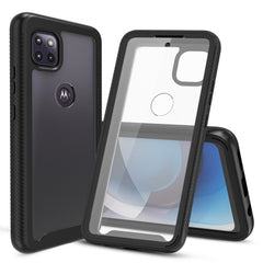 Heavy-Duty Case with Built-in Screen Protector for Motorola One 5G Ace