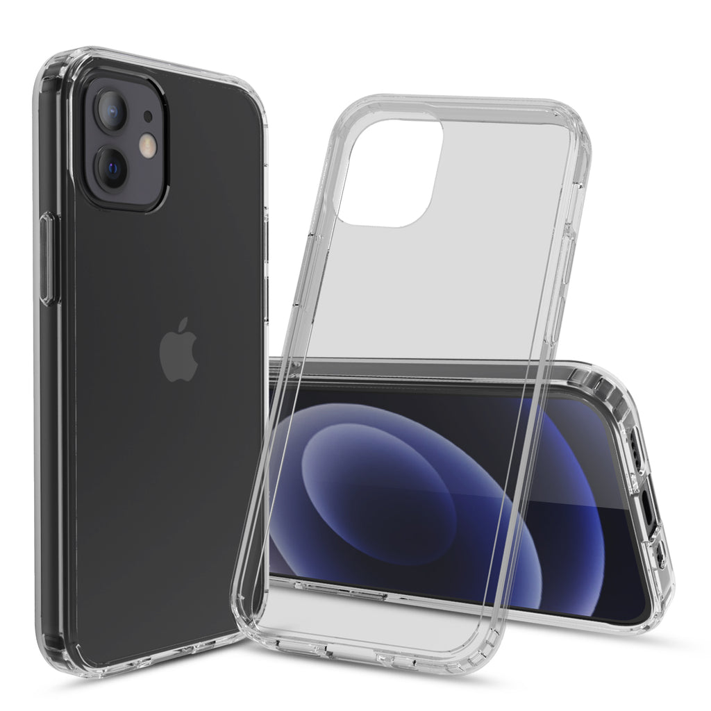 Clear Hard Case Cover for iPhone 12