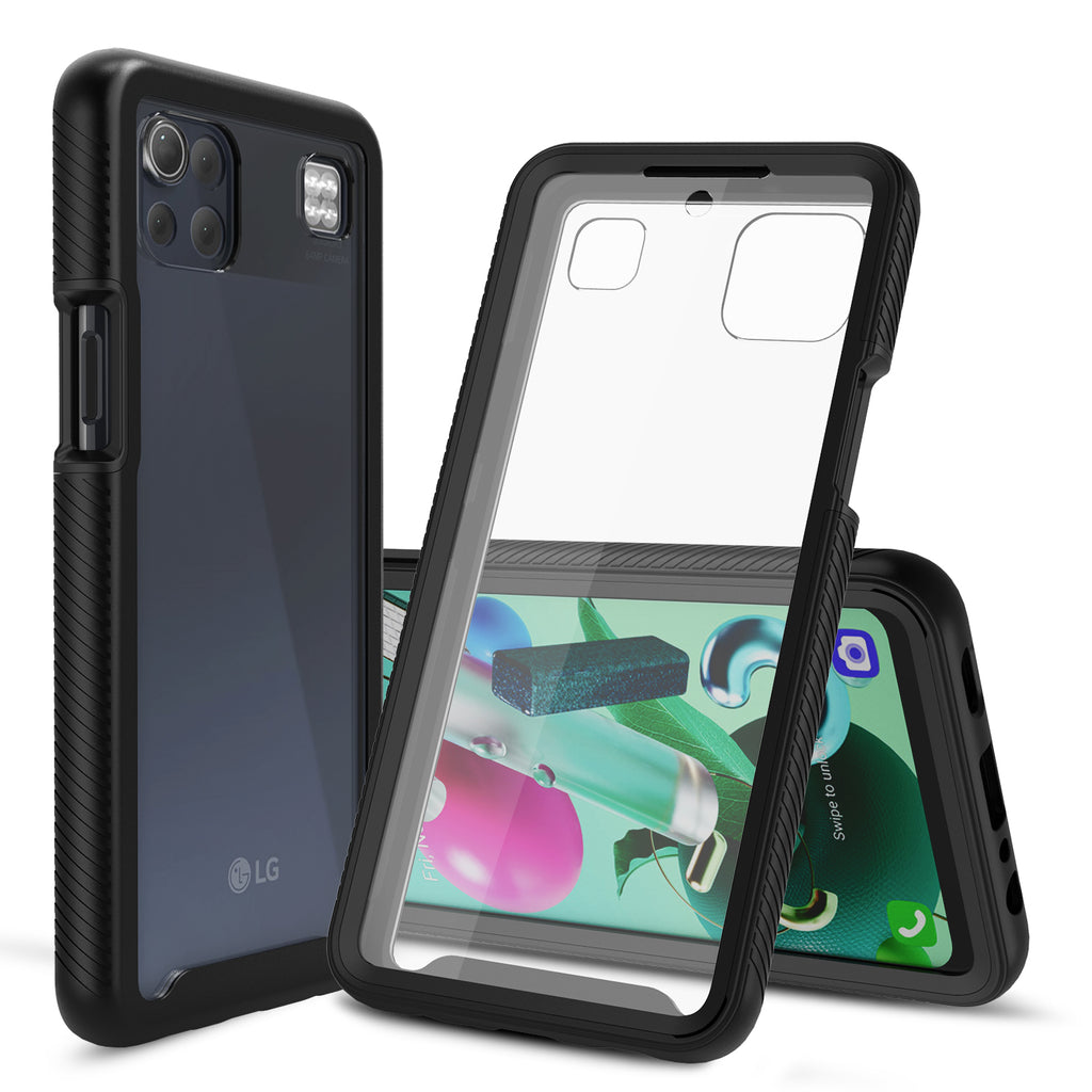 Heavy-Duty Case with Built-in Screen Protector for LG K92 5G