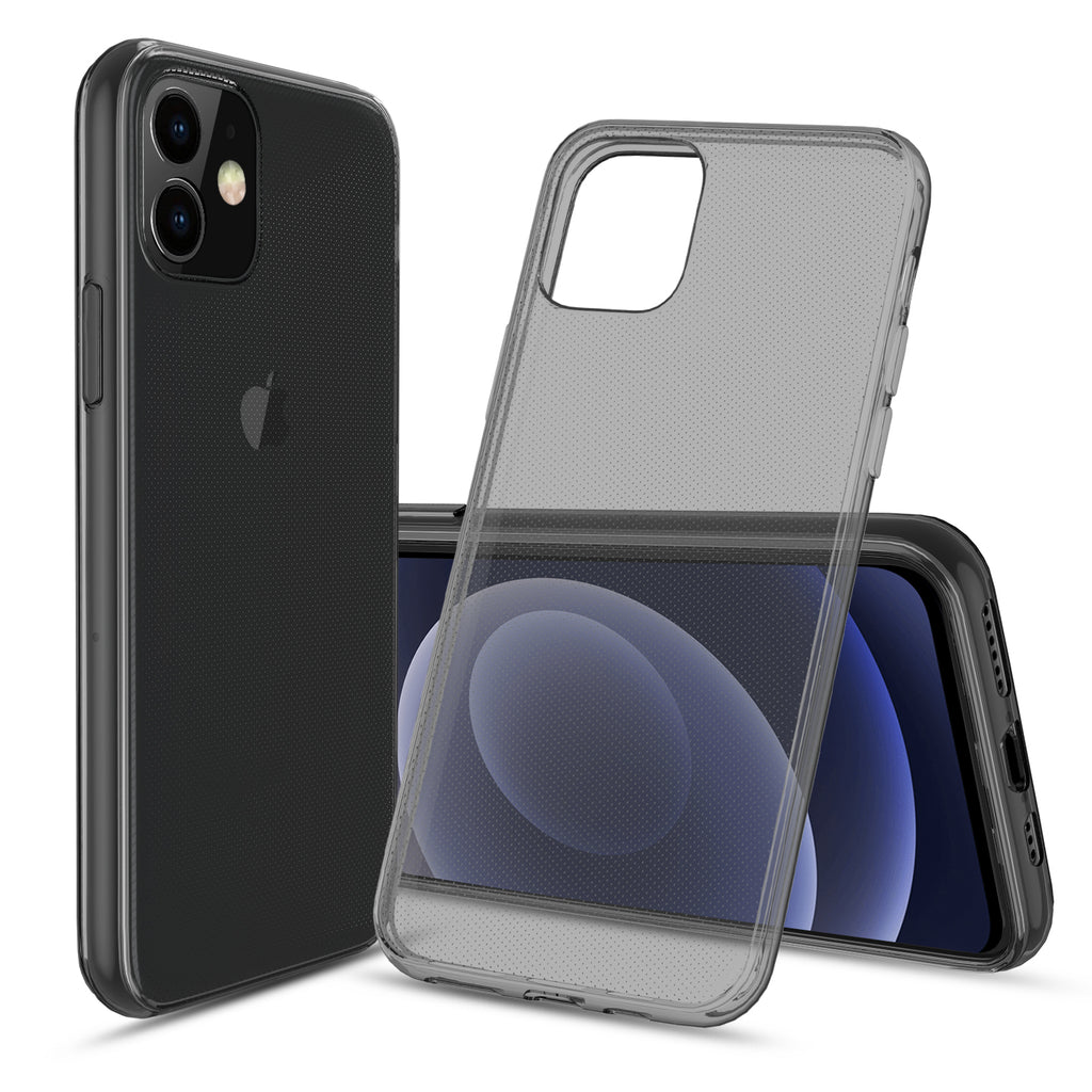 Flex-Gel Silicone TPU Case for Apple iPhone 12 Mini (Smoke)