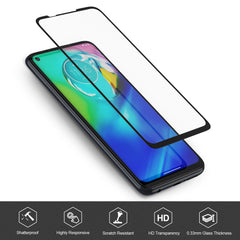 [2 Pack] Tempered Glass Screen Protector for Motorola Moto G Power