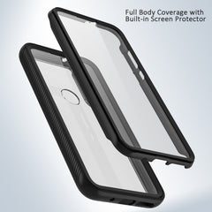 Heavy-Duty Case with Built-in Screen Protector for Moto G Fast