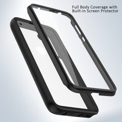 Heavy-Duty Case with Built-in Screen Protector for Moto G Stylus