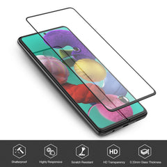 [2 Pack] Tempered Glass Screen Protector for Samsung Galaxy A51