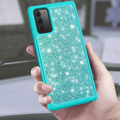 Sparkling Glitter Case for Samsung Galaxy Note 20 (Teal)