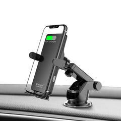 Wireless Charger Adjustable Car Phone Holder