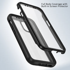 Heavy-Duty Case with Built-in Screen Protector for iPhone 12 mini