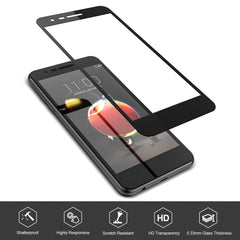 [2 Pack] Tempered Glass Screen Protector for LG Aristo 3, 3 Plus, 2 Plus
