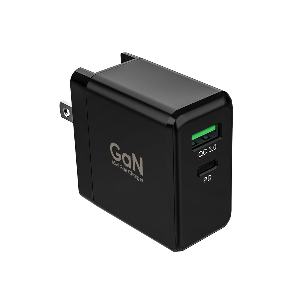 65W GaN USB-C PD Power Wall Charger