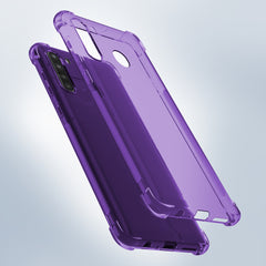 Flex-Gel Silicone TPU Case for Samsung Galaxy A21 (Purple)