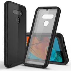 Heavy-Duty Case with Built-in Screen Protector for LG K51, LG Reflect