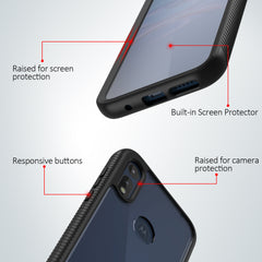 Heavy-Duty Case with Built-in Screen Protector for Motorola Moto E (2020)