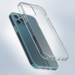 Clear Hard Case Cover for iPhone 12 Pro