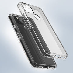 Clear Hard Case Cover for Google Pixel 5