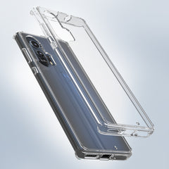 Clear Hard Case Cover for Motorola edge+