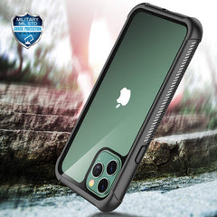 Heavy-Duty Case with Built-in Screen Protector for iPhone 11 Pro