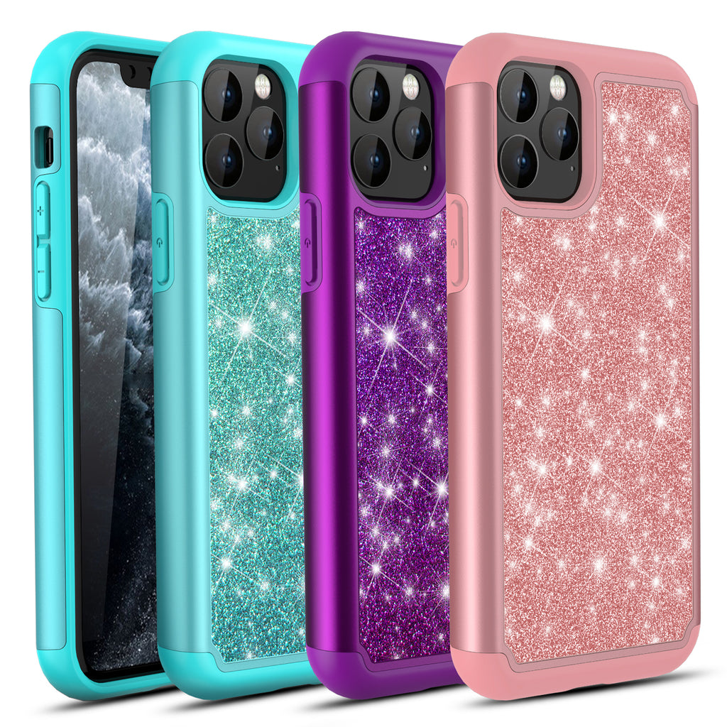 Sparkling Glitter Case Compatible with iPhone 11 Pro