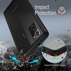 Heavy-Duty Case with Built-in Screen Protector for Samsung Galaxy Note 20