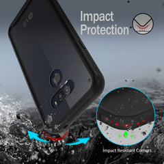 Heavy Duty Case Built-in Screen Protector for LG Harmony 4