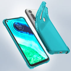 Flex-Gel Silicone TPU Case for Motorola Moto G Fast (Turquoise)